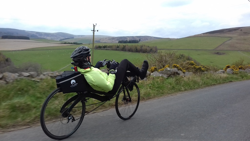 Nearly home again - Clovenfords to Stow - Photo courtesy of David Gardiner